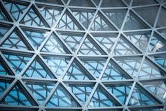 Local commercial moderne de gratte-ciel, fasade moderne d'entreprise de bâtiment Photo stock