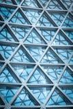 Local commercial moderne de gratte-ciel, fasade moderne d'entreprise de bâtiment Photo libre de droits