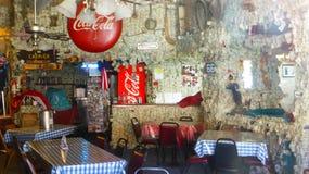 Local con una decoración especial Imagen de archivo