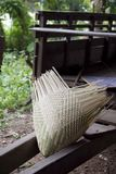 Local craft for sticky rice. Made from bamboo Royalty Free Stock Photo