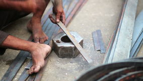 Local craftsman at work Royalty Free Stock Photo