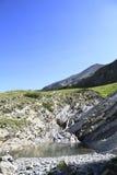 Local da bandeja e os lagos da lenhina, france Imagens de Stock Royalty Free