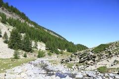 Local da bandeja e os lagos da lenhina, france Imagem de Stock Royalty Free