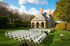 Local da cerimónia de casamento imagens de stock royalty free