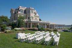 Local da cerimónia de casamento imagem de stock royalty free
