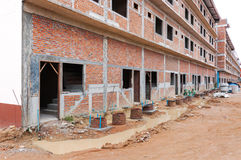 Local da construção civil foto de stock