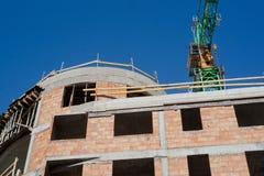 Local da construção civil Imagem de Stock