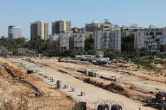Local da construção de estradas Foto de Stock Royalty Free