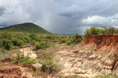 Local da Idade da Pedra de Isimila Fotografia de Stock Royalty Free