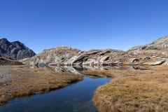 Local da montanha do blanchet, France Fotografia de Stock