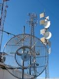 Local da telecomunicação do Mt. Konocti Imagens de Stock Royalty Free