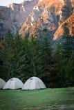 Local de acampamento foto de stock