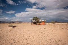 Local de acampamento em Sossusvlei em Namíbia imagens de stock