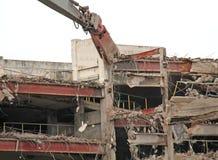 Local de demolição da construção Imagem de Stock Royalty Free