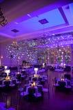 Local de encontro belamente decorado do casamento Fotos de Stock Royalty Free
