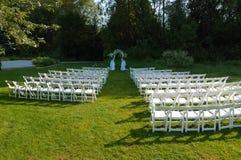 Local de encontro do casamento Fotos de Stock Royalty Free