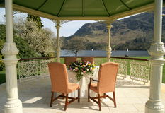 Local de encontro luxuoso do casamento fora Imagem de Stock Royalty Free