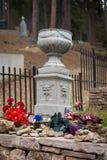 Local de enterro de Calamity Jane foto de stock