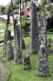 Local de enterro tradicional da família imagem de stock