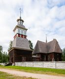 Local de madeira do patrimônio mundial do unesco da igreja Foto de Stock