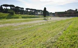Local de Maximus do circo em Roma, Itália imagens de stock royalty free