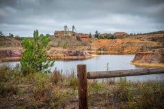 Local de mineração Foto de Stock