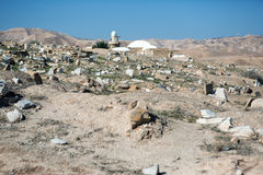 Local de Nabi Musa no deserto Foto de Stock Royalty Free