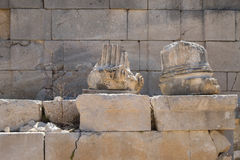 Local de Patara Archaelogical Imagem de Stock