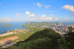 Local de Tai Po Tsai do projeto buliding da casa nova do mundo Imagem de Stock Royalty Free