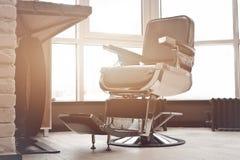Local de trabalho do cabeleireiro Imagem de Stock