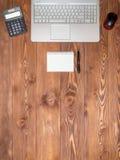 Local de trabalho no escritório Imagem de Stock