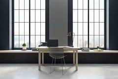 Local de trabalho no interior novo Imagens de Stock Royalty Free