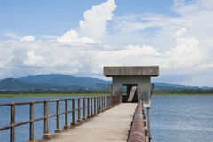 Local del agua cruda Foto de archivo libre de regalías