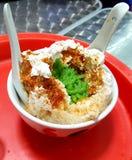 Local dessert & x28;Cendol& x29; in Melaka, Malaysia stock images