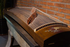 Local details of  Guzheng Royalty Free Stock Photos