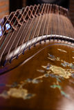 Local details of  Guzheng Stock Photography