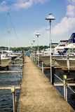 Local Detroit Marina Royalty Free Stock Photo
