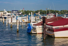 Local Detroit Marina Stock Photo