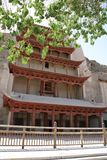 Local do UNESCO dos grottoes de Mogao, Dunhuang China Fotografia de Stock