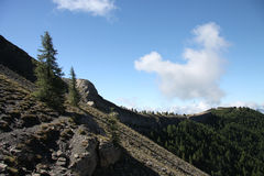 Local dos desfiladeiros de St Pierre, france imagem de stock royalty free