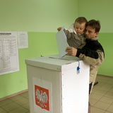 Local elections in Poland Royalty Free Stock Images