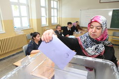 Local Elections in Turkey. Stock Image