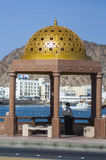 Local Enjoys View Of Harbour In Muscat, Oman
