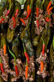 Local Filipino food - Eggplant Pork and Chili Royalty Free Stock Images