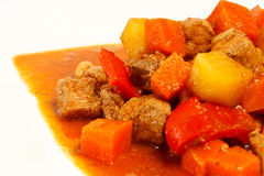 Local Filipino food - Pork Stew Stock Photo
