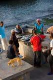 Local Fish Market in Cape Verde, Ponta do Sol Stock Photos