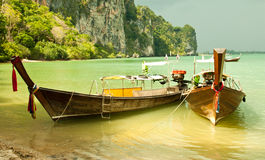 Free Local Fishing Boats. Royalty Free Stock Photography - 25340377