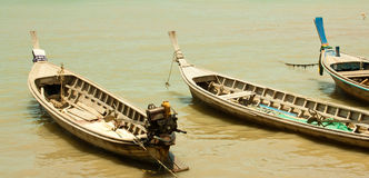 Local fishing boats. Royalty Free Stock Photography