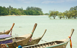 Local fishing boats. Royalty Free Stock Image
