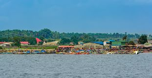 Free Local Fishing Boats At The Fishing Port Of Kamsar, Guinea, West Africa Stock Photos - 149799383